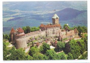 Chateau du Haut Koenigsbourg Hoh Konigsburg France 1972 4X6