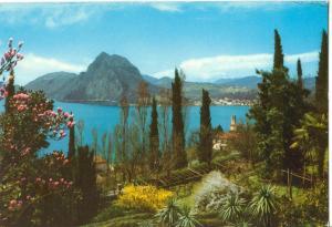 Switzerland, Lugano, S. Salvatore, visto da Castagnola, unused Postcard
