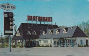 Restaurant LA DAME BLANCHE , Ste. Anne , Beauport , Canada , PU-1971