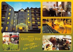 Thueringen Hotel Gothaer Hof Schwimmbad Gasthaus Restaurant