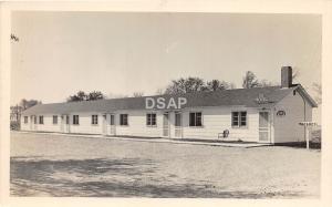 B93/ Spring Valley Minnesota Mn Real Photo RPPC Postcard c40s 66 Motel Roadside