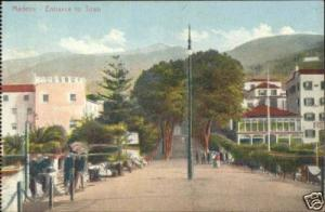 portugal, MADEIRA, Town Entrance (1920s)
