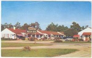 Travelers Motor Hotel, Myrtle Beach, South Carolina, 40-50s