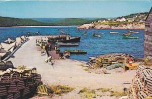 Neils Harbour , Cape Breton, Nova Scotia , Canada, PU-1972