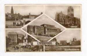 RP, 5 Different Views Of Liverpool (Lancashire), England, UK, 1920-1940s