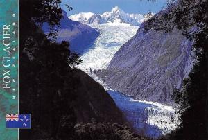New Zealand Fox Glacier West Coast Mountains Landscape