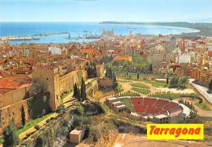 Spain Costa Dorada Tarragona Vista general Theatre Aerial view