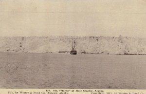 MUIR GLACIER , Alaska , 1900-10s : Steamer QUEEN