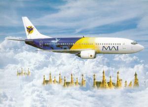MAI (Mynamar Airway International) Jet Airplane , 70-90s