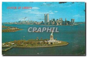 Modern Postcard Statue of Liberty This famous statue stands there Bedloe's Is...