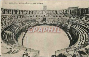 Postcard Ancient Arles View Inner des Arenes
