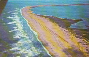 Aerial View Assateague Island Virginia