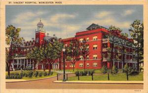 12097  MA  Worcester 1940's  St. Vincent Hospital