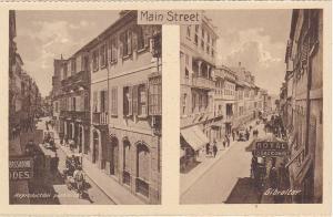 GIBRALTAR, 1900-1910's; Main Street, Royal Tobacconist
