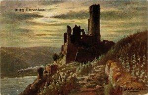 CPA AK Burg Ehrenfels GERMANY (859877)