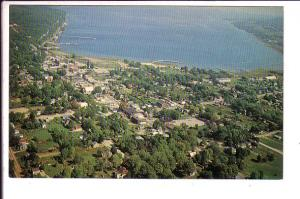 Wiarton, Ontario, Overhead View