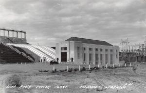 Holdredge Nebraska~All Saints Catholic Church~1950s Cars~Real Photo Postcard