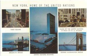 New York City Home of the United Nations NY