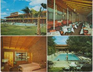 EL PASO Texas - CABALLERO MOTOR HOTEL & RESTAURANT 1960s JUMBO SIZE/ Demolished
