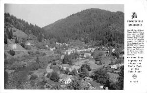 Downieville California Scenic View Frasher Real Photo Antique Postcard J55602
