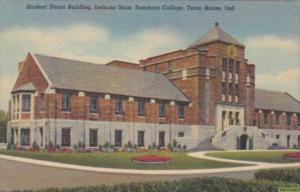 Indiana Terre Haute Student Union Building Indiana State Teachers College Cur...
