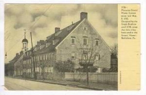 Moravian Sisters' Home, Bethlehem, Pennsylvania, 1900-1910s