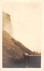Lowell Michigan Scenic Waterfall Real Photo Antique Postcard K85342