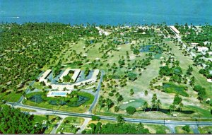 Florida Miami Key Biscayne Aerial View Key Colony Resort