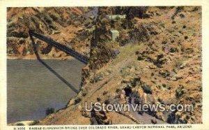 Kaibaba Suspension Bridge - Grand Canyon National Park, Arizona AZ