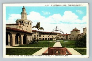 St. Petersburg, FL-Florida, Hotel Rolyat, Advertising, Vintage Postcard
