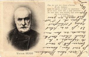 CPA écrivain auteur poete VICTOR HUGO (305146)