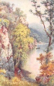 Stybarrow Crag Ullswater Art Artist 1905