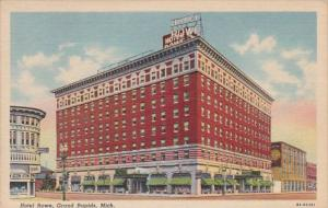 Michigan Grand Rapids Hotel Rowe Curteich