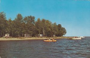 Camping site,  Oka Provincial Park,  Quebec,  Canada,  PU_1985