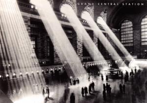 Postcard Grand Central Station, New York, Train Railway Station, USA G33