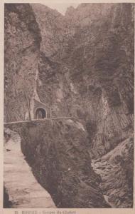 Gorges Du Chabet 15 Bougie Algeria Antique Algerian Mediterranean Old Postcard