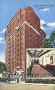 Lincoln Park Arms Hotel, Chicago, Illinois, IL USA Hotel Postcard Motel Post ...