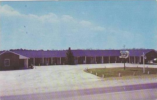 North Carolina Lumberton El Reposo Motor Court