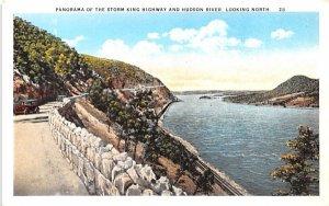 Storm King Highway Hudson River, New York Postcard