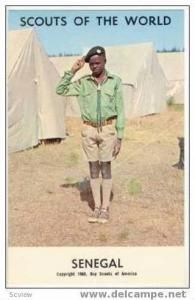 Boy Scouts of the World, SENEGAL SCOUTS, 1968