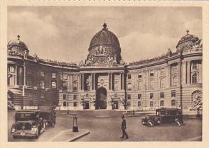 Austria Vienna Wien Michaelerplatz mit Burgtor