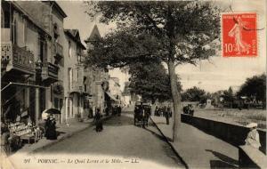 CPA PORNIC Le Quai Lerav et le Mole (610812)