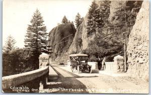 Columbia River Highway Oregon RPPC Postcard Shepherds Dell #254 Cross & Dimmit