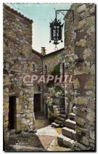 Old Postcard Eze Village Chateau Du Prince Of Sweden