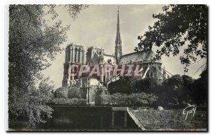 Old Postcard Paris and Wonders The Cathedral of Our Lady southern view is