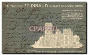 Old Postcard Parfurmerie Perfume Pinaud Place Vendome Paris Pavilion of Expo ...