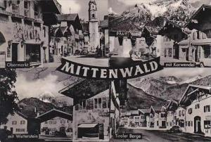 Germany Mittenwald Multi View Real Photo