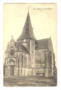 Eglise de BEAUMONT France, 1900-1910s