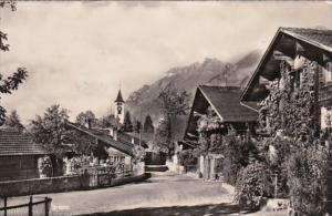 Switzerland Brienz Town View 1950  Photo