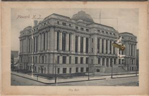 NEWARK , New Jersey, 1901-07 ; City Hall & Pop-out views